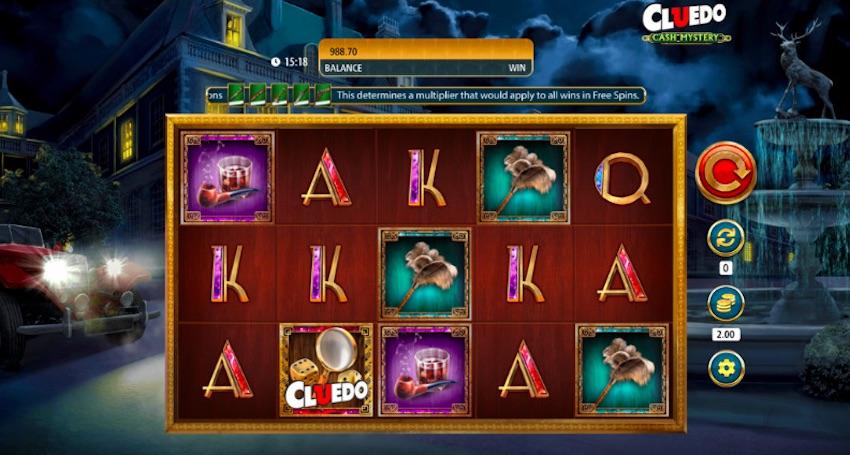 Cluedo Cash Mystery Slot Review