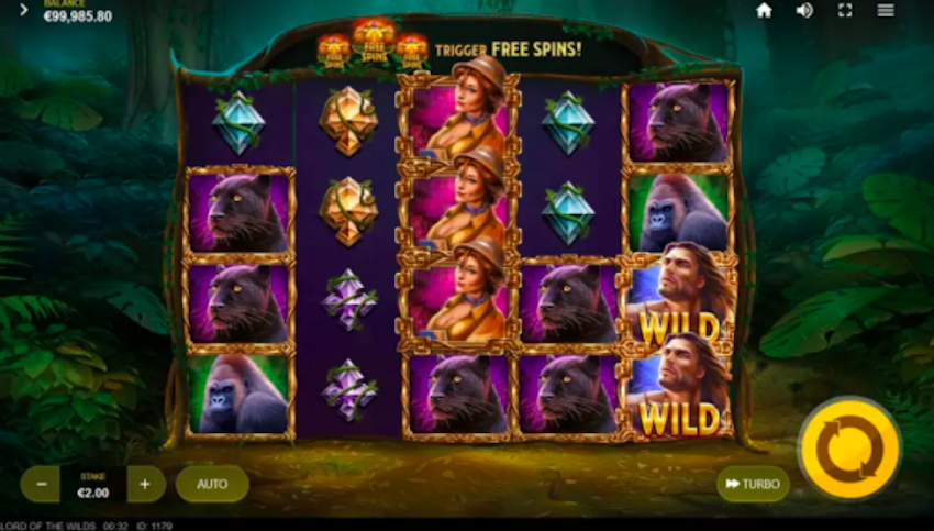 Lord of the Wilds Slot Review