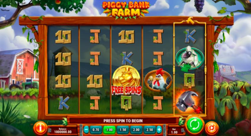 Piggy Bank Farm Slot Review