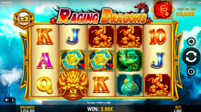 Raging Dragons Slot Review