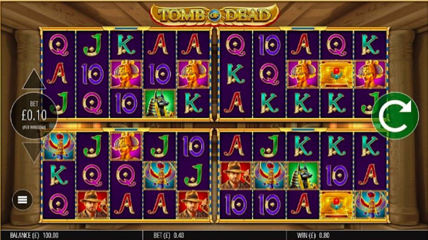 Tomb of Dead Power 4 Slot Review