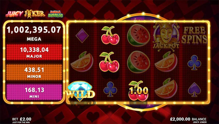 Juicy Joker Mega Moolah Slot Review
