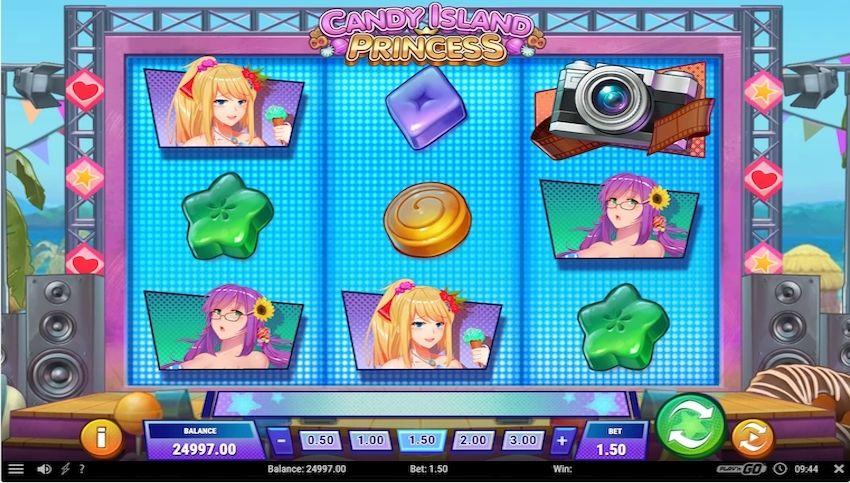 Candy Island Princess Slot Review