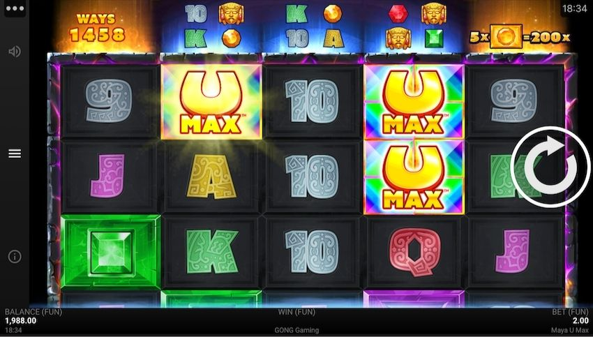 Maya U Max Slot Review