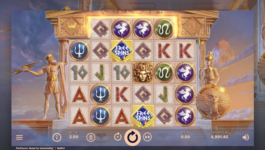 Parthenon: Quest for Immortality™ Slot Review