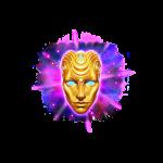 cosmic voyager symbol golden mask