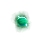 cosmic voyager symbol green planets