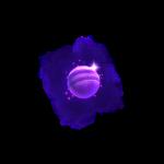 cosmic voyager symbol purple planets