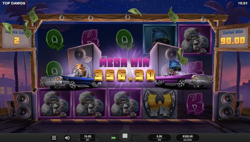 Top Dawg$ Slot Review
