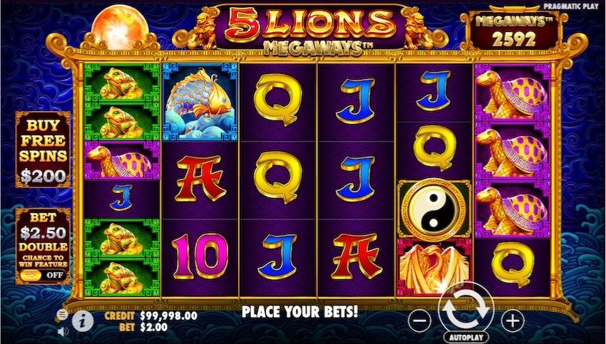 5 Lions Megaways Slot Review