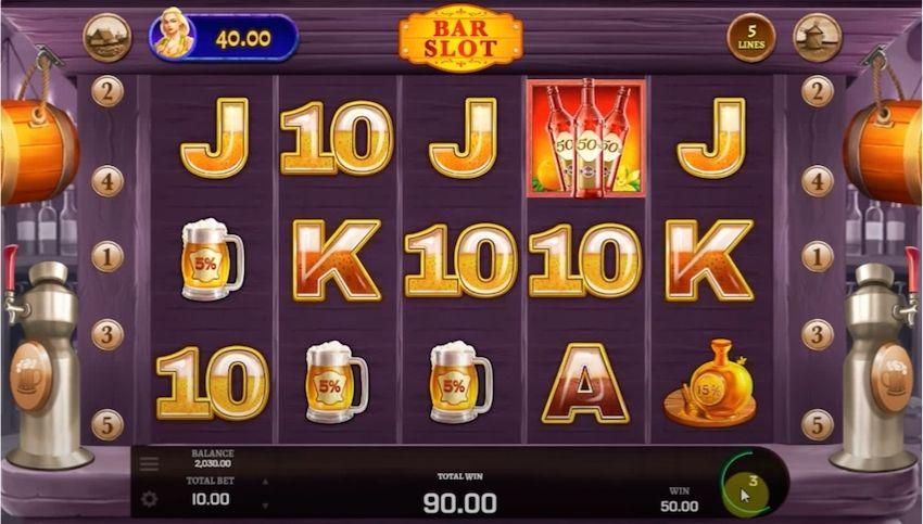 Bar Slot Slot Review