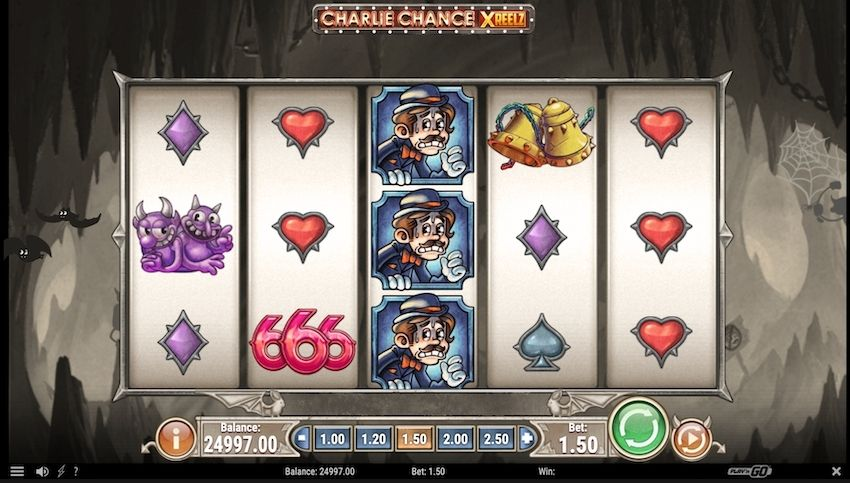 Charlie Chance XREELZ Slot Review