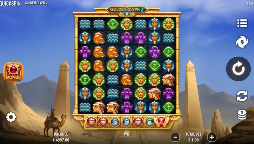 Golden Glyph 2 Slot Review
