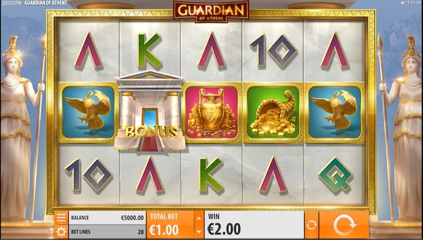 Guardians of Athens Slot Review