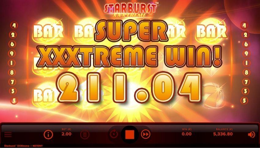 Starburst XXXtreme Slot Review