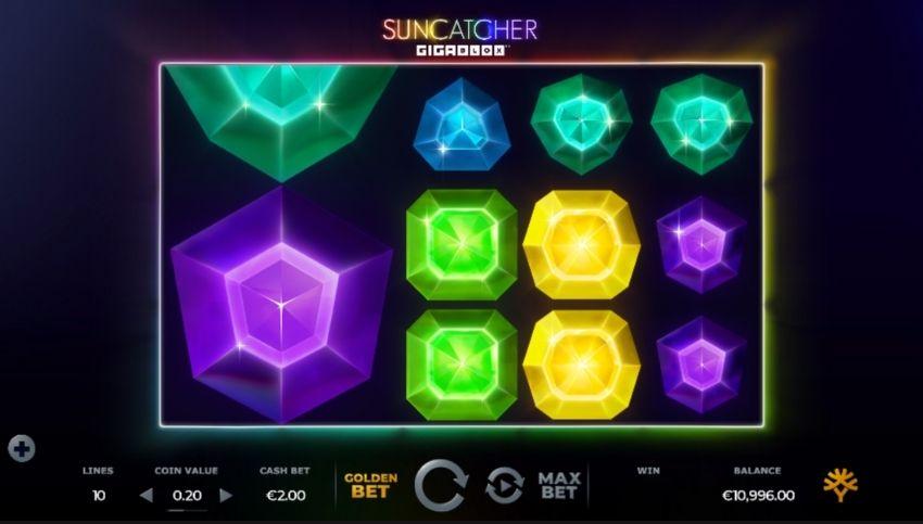 Suncatcher Gigablox Slot Review