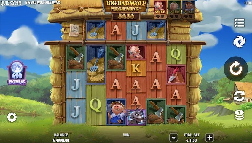 Big Bad Wolf Megaways Slot Review