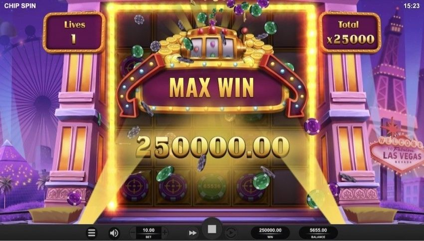 Chip Spin Slot Review