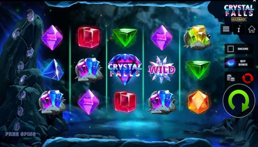Crystal Falls Slot Review