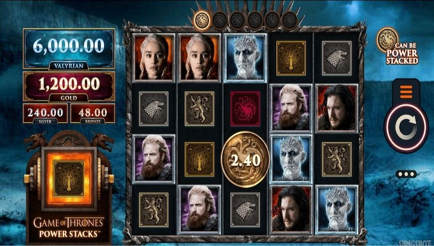 Game of Thrones Power Stacks Slot Review