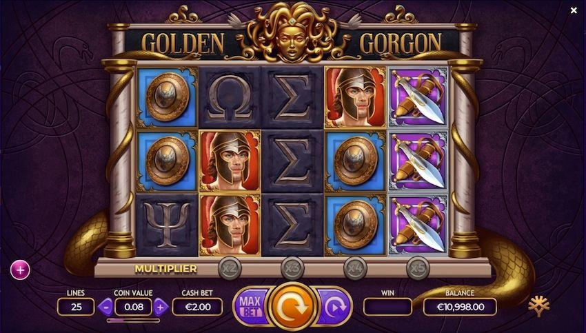 Golden Gorgon Slot Review