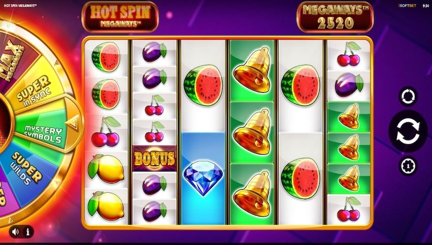 Hot Spin Megaways Slot Review