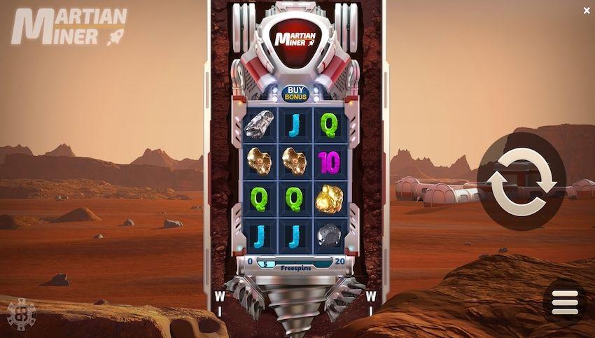 Martian Miner Slot Review