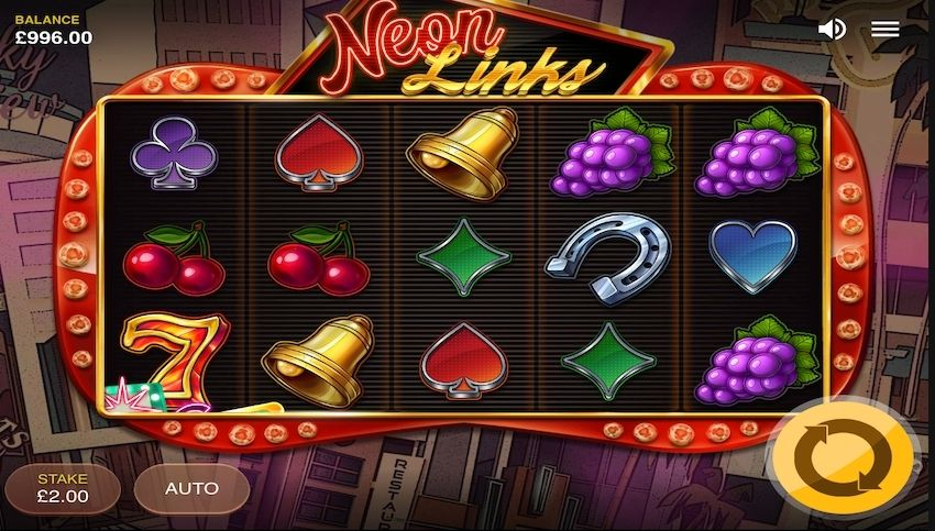 7 Neon Links Slot Review