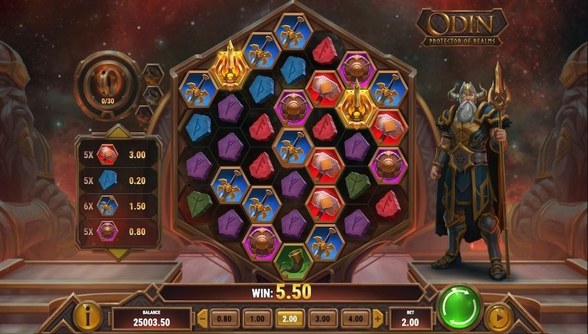 Odin: Protector of Realms Slot Review