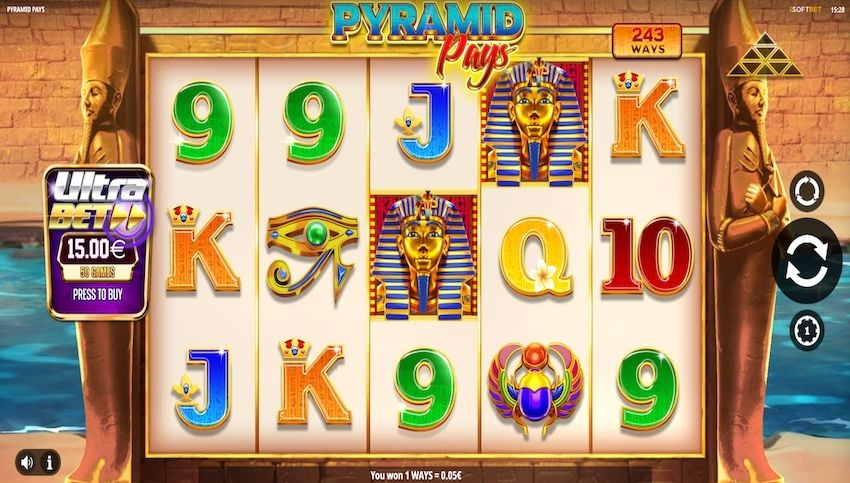 Pyramid Pays Slot Review