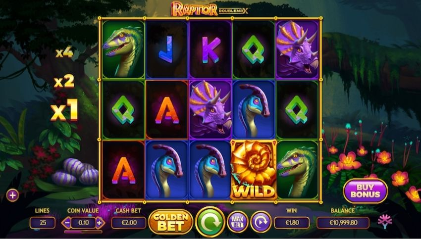 Raptor Doublemax Slot Review