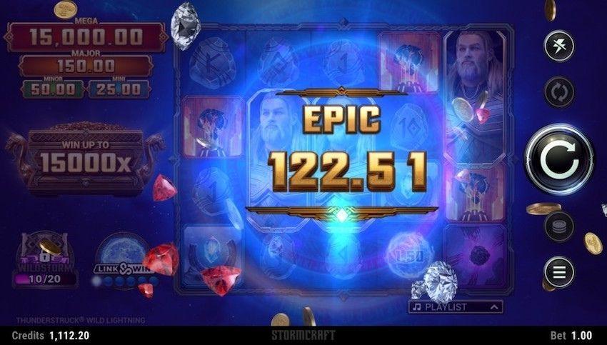 Thunderstruck Wild Lightning Slot Review