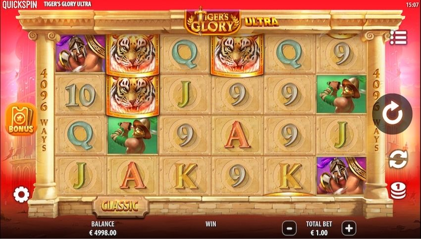 Tiger's Glory Ultra Slot Review