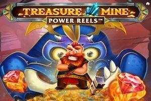Treasure Mine Power Reels Logo