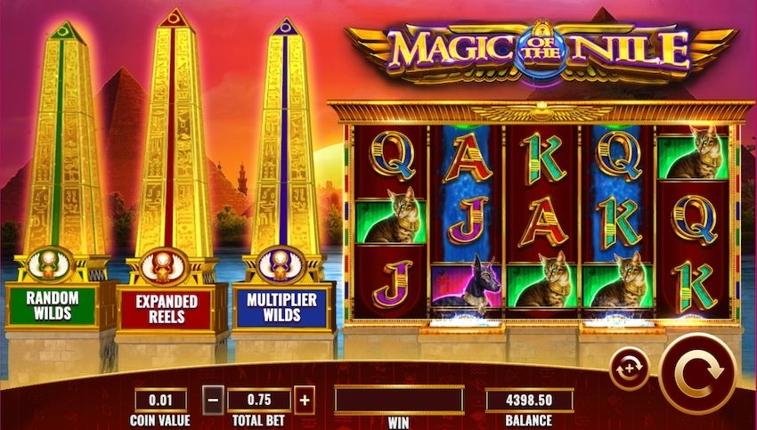 Magic Of The Nile Slot Review