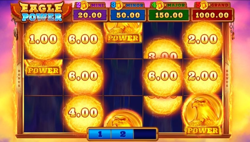 Eagle Power Hold and Win Slot Review