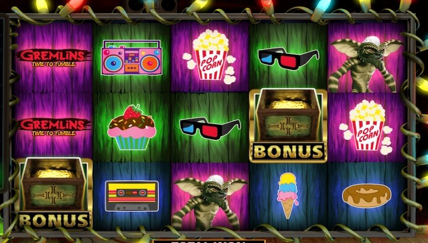 Gremlins Time To Tumble Slot Review