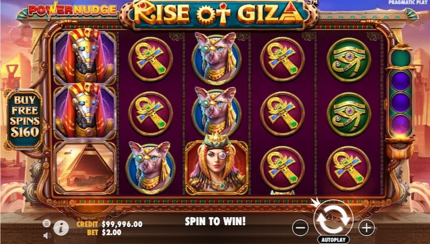 Rise of Giza PowerNudge Slot Review