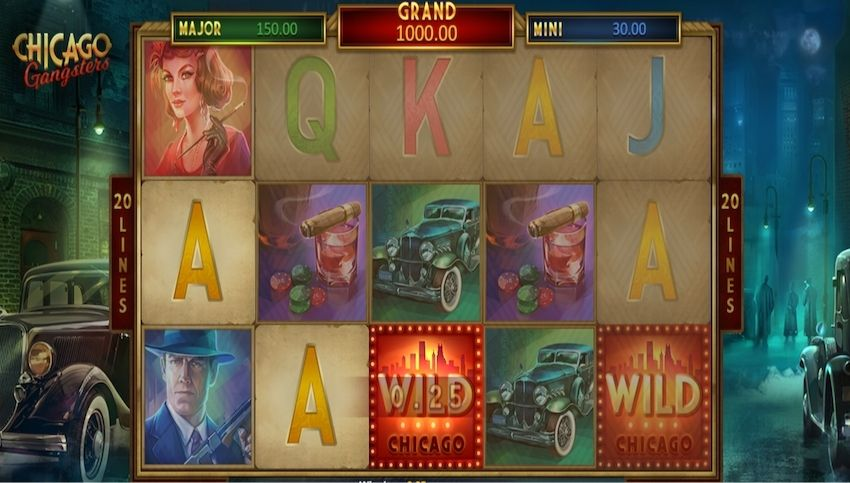 Chicago Gangsters Slot Review